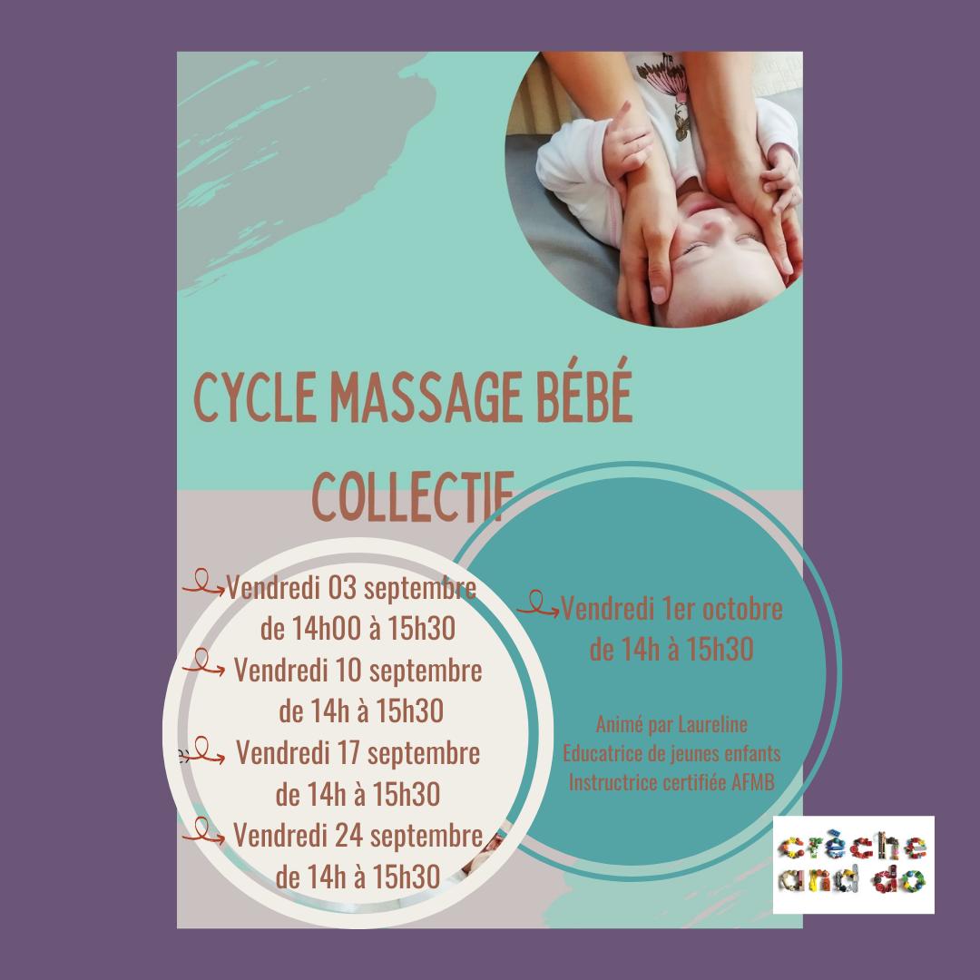 date ateliers massages bébés parents