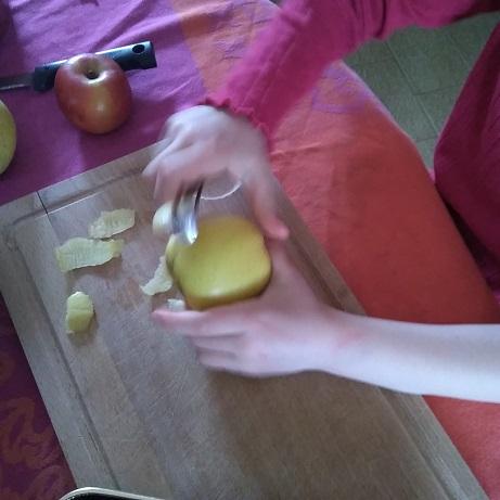 Crumble aux pommes