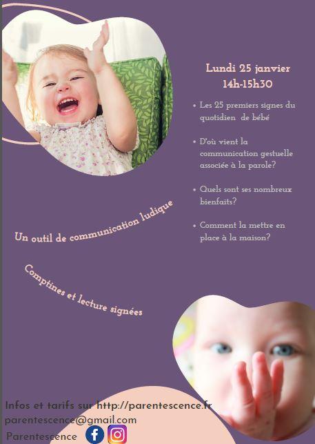 enfant atelier découverte des signes association creche and do garde d'enfants à domicile sur toulouse