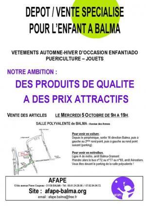 Afape Troc d'automne Toulouse
