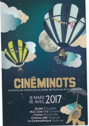 CINEMINOTS le festival de cinéma jeune public de Toulouse et sa couronne