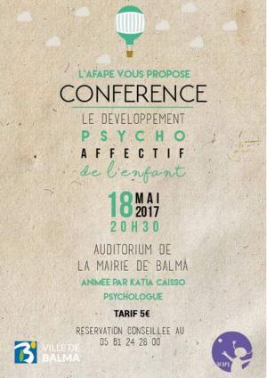 Conférence AFAPE 18 mai 2017 Balma