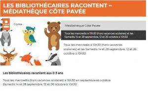 Médiathèque Côte Pavée
