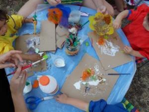 Atelier tableaux sensoriels Toulouse