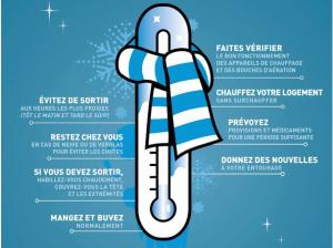 Quelques recommandations en pèriode de grands froid
