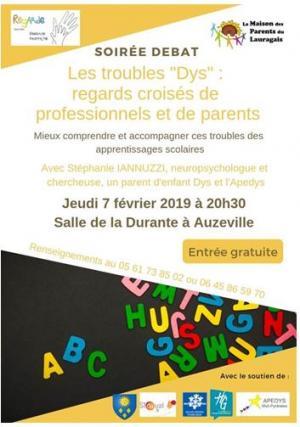 """les troubles """"DYS"""""""