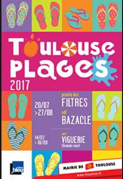 Toulouse plage 2017