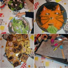 Atelier cuisine garde d'enfants a domicile creche and do