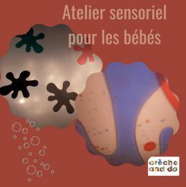 Atelier sensoriel pour les bébés