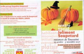 Centre social de Jolimont Vacances de toussaint