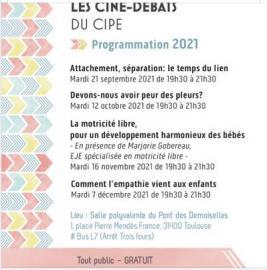 Ciné Débats du CIPE 2021