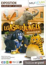 Exposition Les As de la Jungle Museum Toulouse