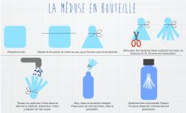 Méduse en bouteille