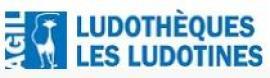 """Ludothèque les Ludotines : service de livraison """"Jeux reste chez moi"""""""