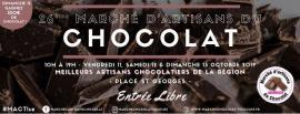 Marché d'artisans du  chocolat