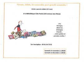 Bibliothèque Côte Pavée : Lire ensemble pour grandir ensemble