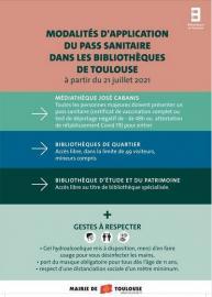 L'accés au réseau des bibliothèques de Toulouse change
