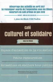 """Café culturel et solidaire """"sous les tilleuls"""" à Paulhac"""