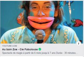 Spectacle Zoé va au bain